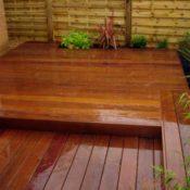 Hardwood-decking