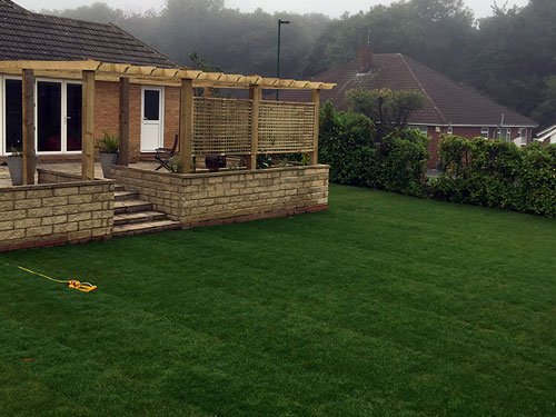 Turfing and Planting